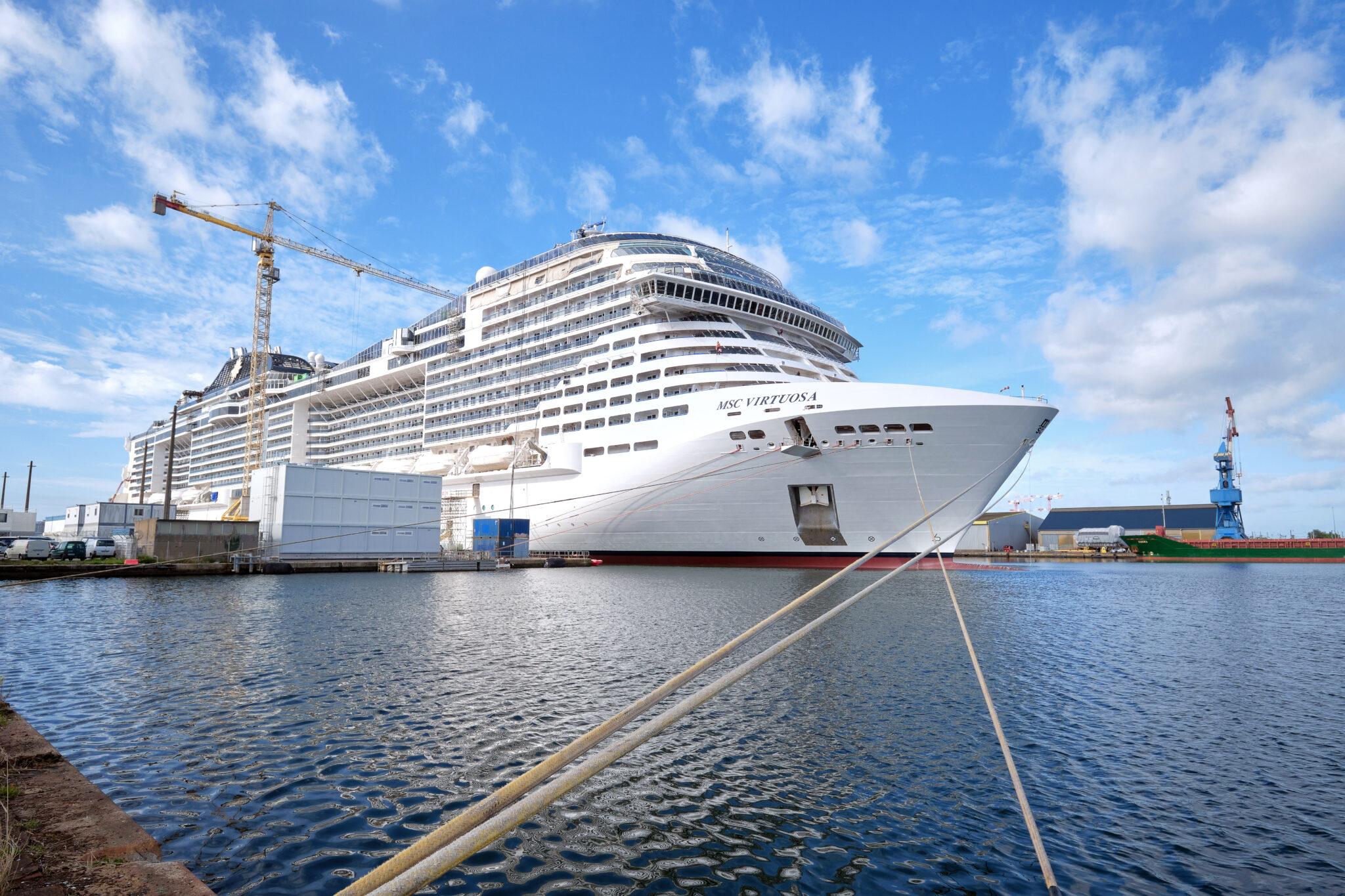 cruise ship anti slip treatment