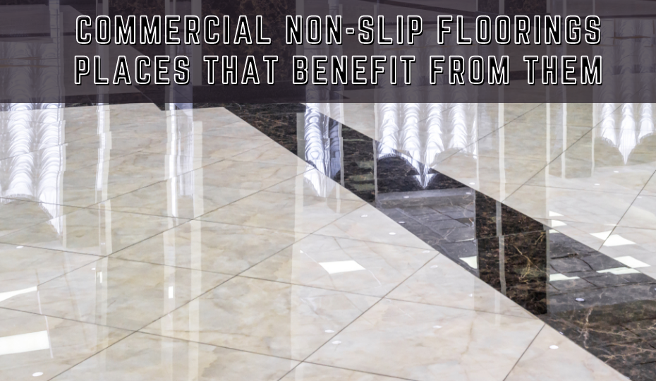 commercial non slip flooring